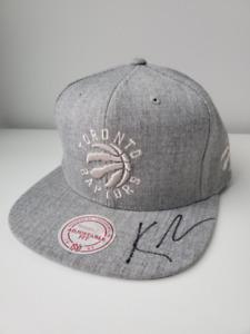 Toronto Raptors Snapback Hat - SIGNED by Kyle Lowry