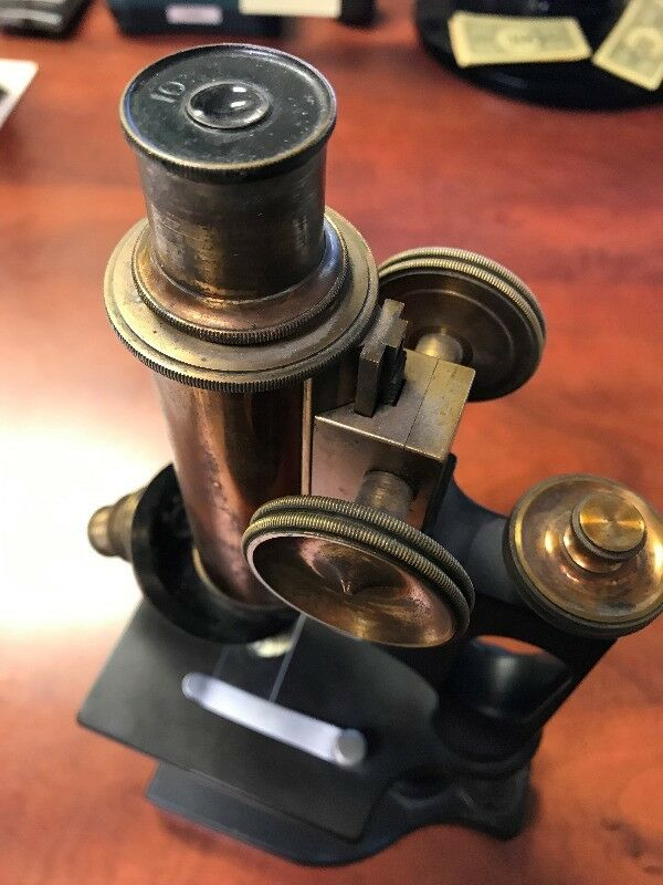 Antique Bausch & Lomb Microscope No. 79904 Rochester NY – Antique Microscope