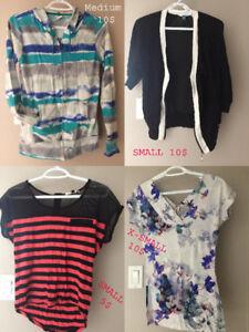 Vêtements presque neufs à vendre - Prix de lot avantageux