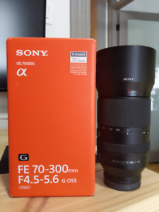 Sony 70-300mm f4.5-5.6 G OSS Lens