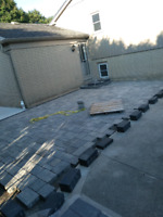 Small interlocking / concrete/ masonry work