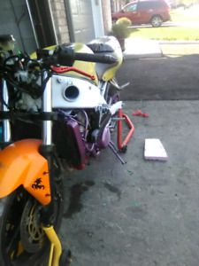 2002 ninja 600 r stunt bike clean title