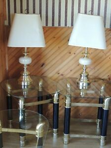 Coffee Table/end table/lamps