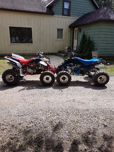2 Race Quads For Trade Or Cash