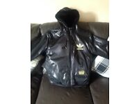 Ladies adidas reversible jacket size 10 for sale