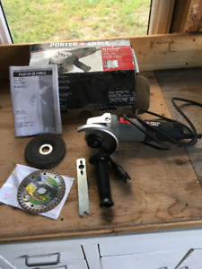 Angle grinder, 4 1/2, Porter Cable