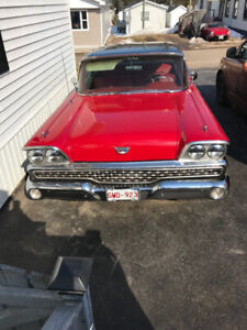 1959 Ford Custom 3001970 302 with matching rebuilt C4 Automatic