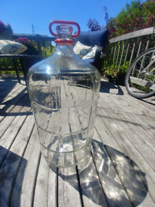 Carboy 5 US Gal (reinforced glass container or jug)