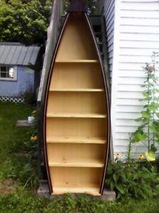 canoe shelf cottage Christmas shelf