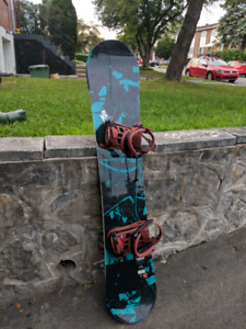K2 Snowboard + Binding - Good condition used once