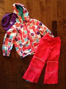 Size 4 fall / splash suit girl