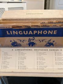 Vintage Linguaphone language course