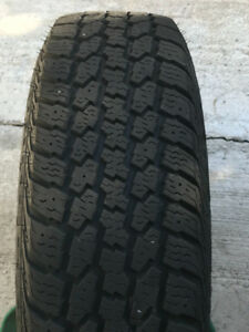 Premium 185/70R 14 Winter Tires On Rims
