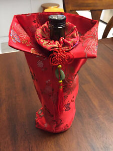 BRAND NEW WINE BOTTLE DECORATIVE BAG/COVER West Island Greater Montréal image 1