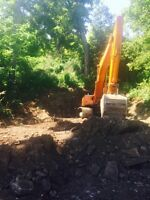 Excavating, Grading, Trenching, Septics, big or small