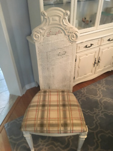 Shabby French Country Kitchen/Dining Chairs