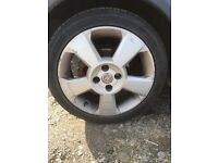 Vauxhall corsa Sri wheels