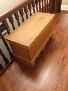 Oak Storage Trunk