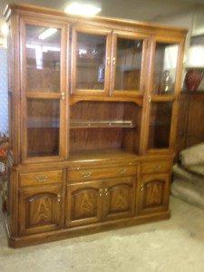 CHINA CABINET & BEDROOM SUITE