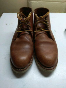 Red Wing Chukka boots shoes 3140 size 8 / uk7 / 41
