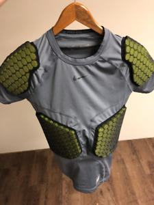 Used Nike Pro Combat Padded Compression Shirt size Small