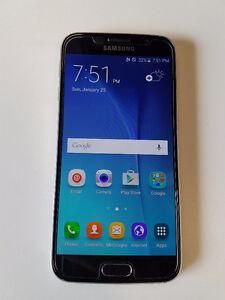 Telus / Koodo Samsung Galaxy S6 Sapphire Black 32gb