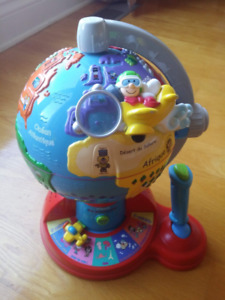 VTech Fly and Learn Globe - French version