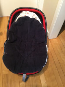 winter cover for infant car seat