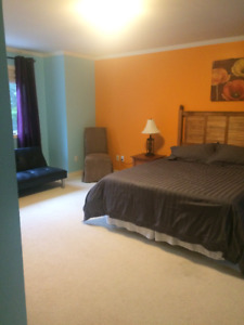Fully Furnished room for rent in the Humber Valley resort
