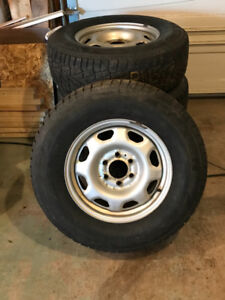 4 Nexen Winter Tires