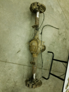 Ford 8.8 rear end with Posi