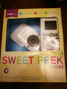 wireless Portable Video/ sound Baby Monitor