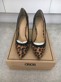 Leopard Print Heels - ASOS