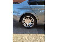 "Vossen VE01 Alloys 18"" With Tyres VW/BMW/MERCEDES"