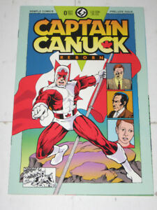 Semple Comics Captain Canuck Reborn#0(1993) Comic Book