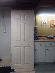 Bi-fold door.