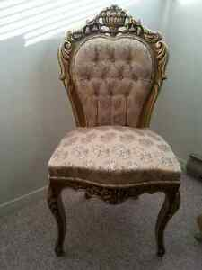 MAGNIFICIENT   ROCOCO  STYLE LOUIS XV  FRENCH CHAIRS