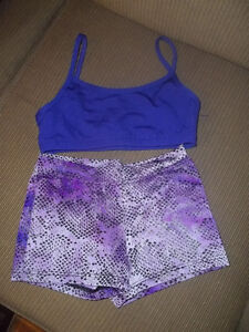 Capezio Girls Acro/Dance Short and Top - EEUC