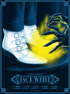 Jack White Ticket - Regina: by stage Section 108, row 11, seat 5