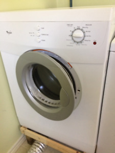 Apt size electric clothes dryer