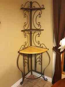 Baker's Rack / decorative shelving unit