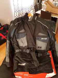 RHYNO Motorcycle jacket with removable Kevlar