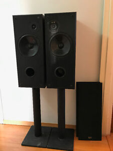Acoustic Profile 7.5 and Nuance Center Speakers - Great Sound