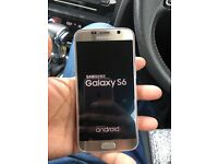 Samsung s6 gold as new unlocked