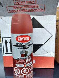 Krylon Covermaster primer spray paint/can - box of 6