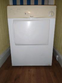 Whirlpool vented tumble dryer
