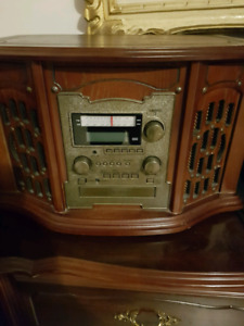 Record CD recorder and tape player