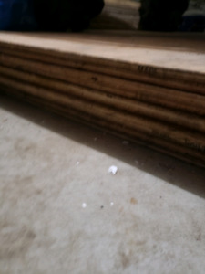 11 sheets of 3/8 plywood