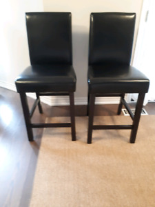 2 Bar Chairs