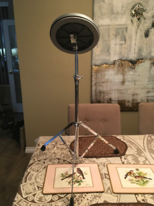 "Drum Practice Pad- 8"" tunable Remo with stand"
